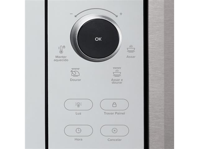 Forno Elétrico Digital de Embutir Decorato Gourmet 44 Lts Inox - 5