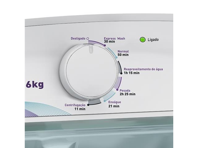 Lavadora Automática Mueller PopMatic Branca 6kg - 1
