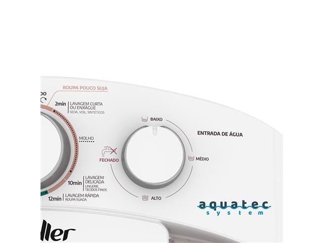 Lavadora Semiautomática Mueller Family com Aquatec Branca 10kg - 5