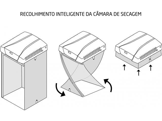 Secadora de Roupa Mueller Soleil Branca com Painel Digital 8Kg - 7