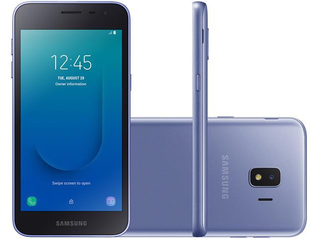 "Smartphone Samsung Galaxy  J2 Core 4G Dual Tela 5"" 16GB Câm 8MP Prata"