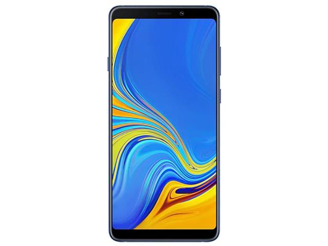 """Smartphone Samsung Galaxy A9 4G 128GB Quad Câmera 24MP Tela 6.3"""" Azul - 2"""