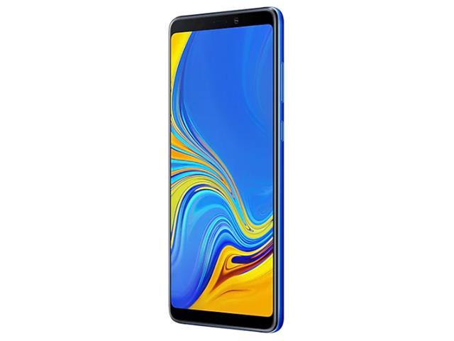 """Smartphone Samsung Galaxy A9 4G 128GB Quad Câmera 24MP Tela 6.3"""" Azul - 4"""