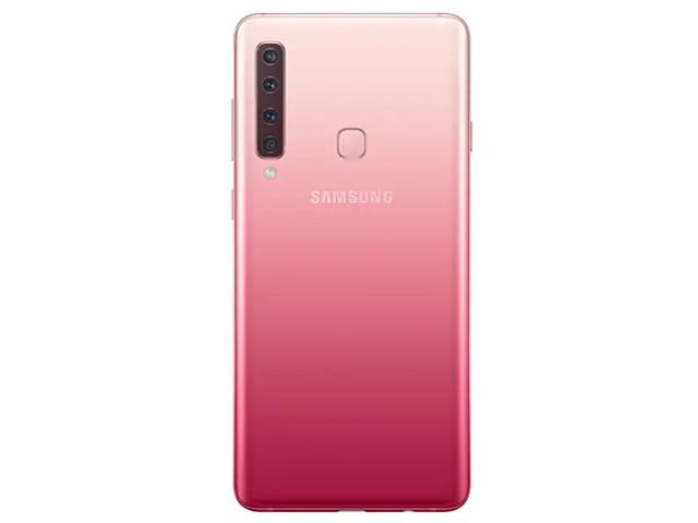 """Smartphone Samsung Galaxy A9 4G 128GB Quad Câmera 24MP Tela 6.3"""" Rosa - 3"""