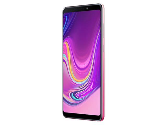 """Smartphone Samsung Galaxy A9 4G 128GB Quad Câmera 24MP Tela 6.3"""" Rosa - 4"""