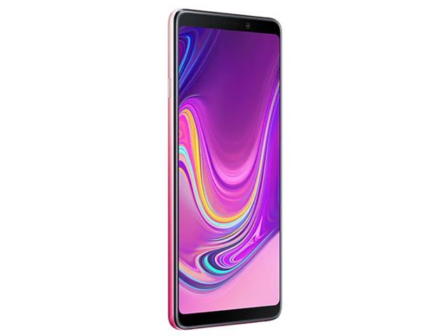 """Smartphone Samsung Galaxy A9 4G 128GB Quad Câmera 24MP Tela 6.3"""" Rosa - 5"""
