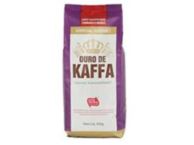 Café Ouro de Kaffa Gourmet Torrado e Moído 500g (12 unidades)