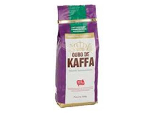 Café Ouro de Kaffa Gourmet em Grãos  500g (12 unidades)