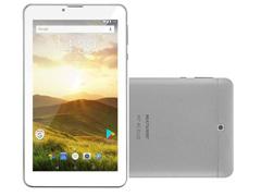 Tablet Multilaser M7 4G Plus Quad Core 1GB Ram 8GB 7 Prata