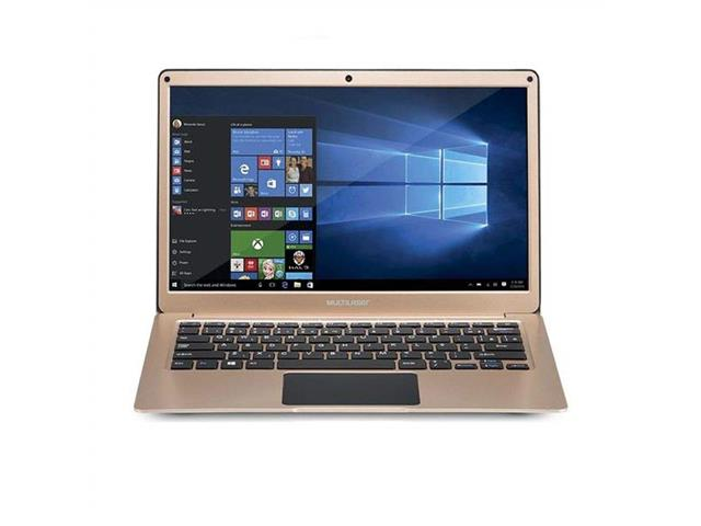 "Notebook Multilaser Legacy Windows 10 4GB RAM HD 64GB 13,3"" Dourado"