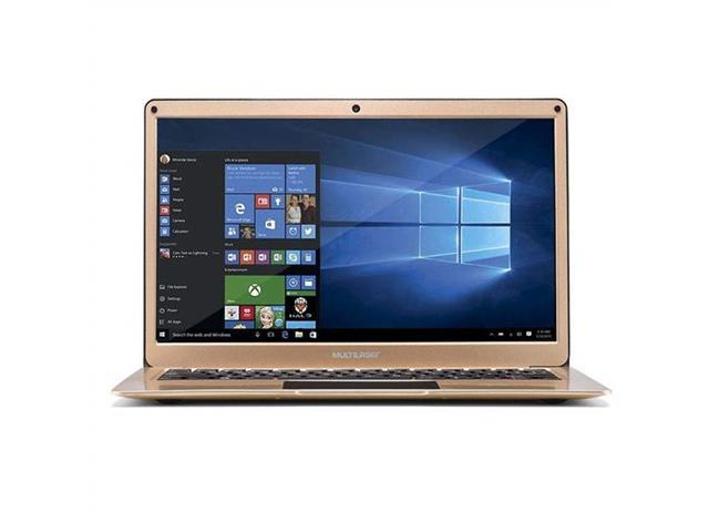 "Notebook Multilaser Legacy Windows 10 4GB RAM HD 64GB 13,3"" Dourado - 2"