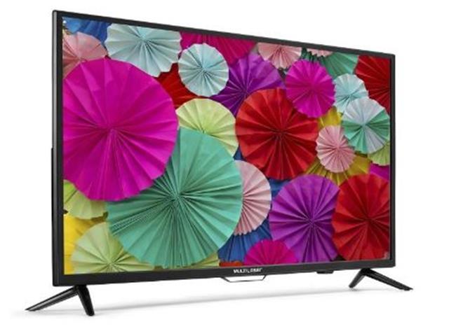 """Smart TV Multilaser Conversor Digital Wifi Integrado LED HD 43"""" - 1"""