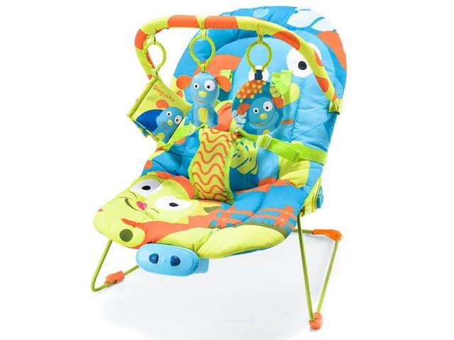 Cadeira de Descanso para Bebês Reclinável Multikids Baby Cachorrinhos - 1