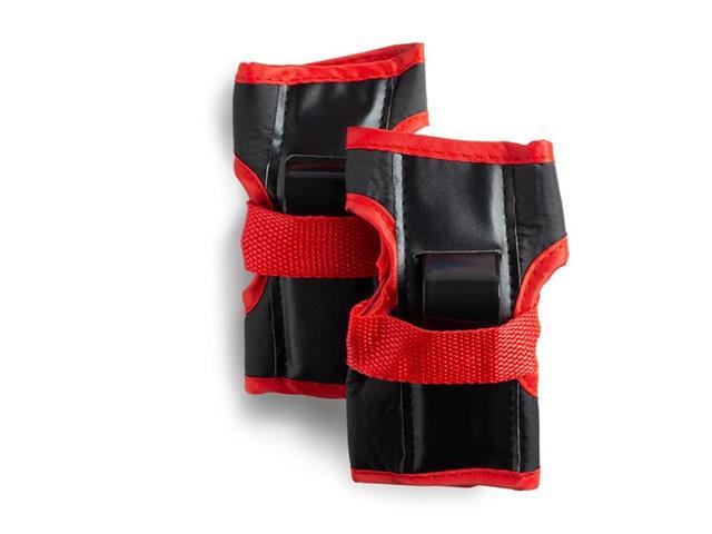 Kit de Proteção Infantil Completo Atrio Preto e Vermelho Reguláveis - 3