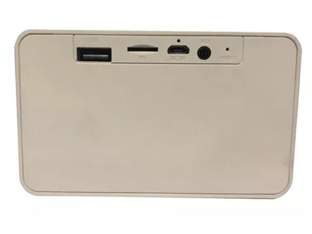 Caixa de Som Xtrax X500 Bluetooth 5W Natural - 2