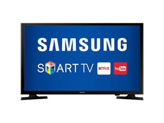 "Smart TV LED 32"" HDTV Samsung Conversor Digital 2 HDMI 1 USB Wi-Fi - 0"