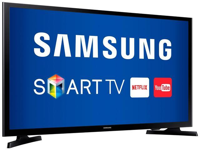 "Smart TV LED 40"" Samsung Full HD Conversor TV Digial 2 HDMI 1 USB WiFi - 1"