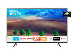 "Smart TV LED 55"" Samsung Ultra HD 4K HDR c/Conv.TV Digital 3 HDMI 2USB"