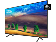 "Smart TV LED 55"" Samsung Ultra HD 4K HDR c/Conv.TV Digital 3 HDMI 2USB - 3"