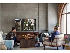 "Smart TV LED 55"" Samsung Ultra HD 4K HDR c/Conv.TV Digital 3 HDMI 2USB - 8"