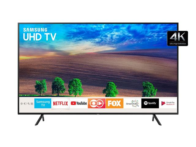 "Smart TV LED 65"" Samsung Ultra HD 4K HDR c/Conv.TV Digital 3 HDMI 2USB - 0"