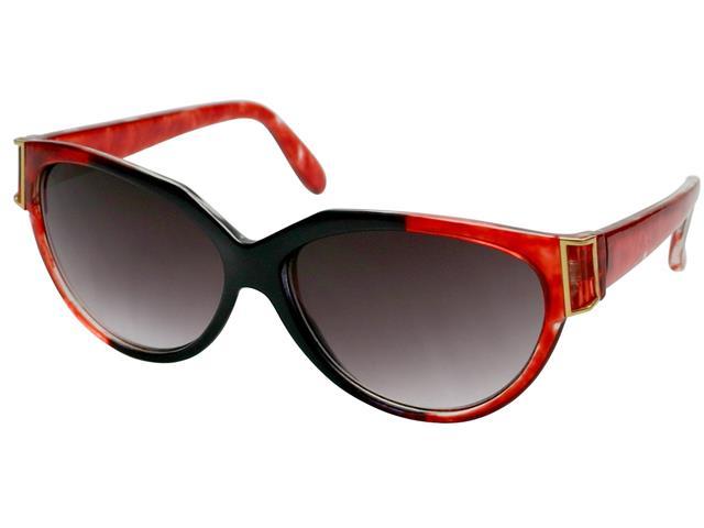 Óculos de Sol Unissex Tamanho Único Opus Vermelho e Preto - 1