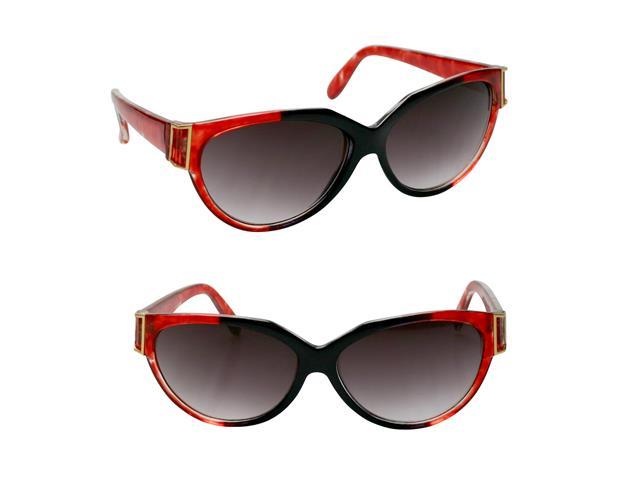 Óculos de Sol Unissex Tamanho Único Opus Vermelho e Preto - 2