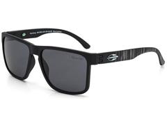 Óculos de Sol Mormaii Monterey Preto com Lente Cinza Polarizada