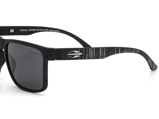 Óculos de Sol Mormaii Monterey Preto com Lente Cinza Polarizada - 2