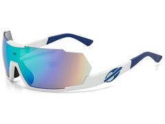 db5b72881 Óculos de Sol Mormaii Predator Branco com Lente Cinza Flash Verde