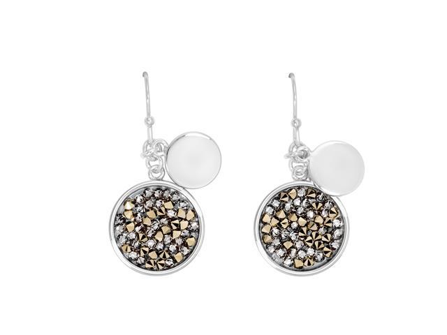 Brinco DSE decorada com cristais da Swarovski® Fine Rocks