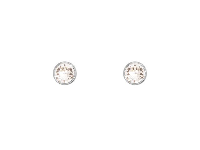 Brinco DSE decorada com cristais da Swarovski® Ponto de Luz