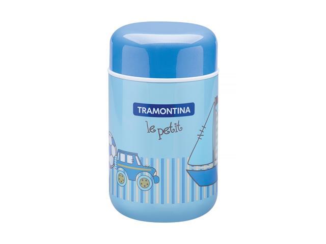 Pote Térmico Infantil Tramontina Le Petit para Alimentos Azul 400ml