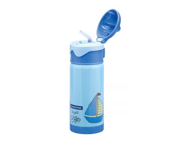Garrafa Térmica Infantil Tramontina Le Petit Azul 350ml - 1