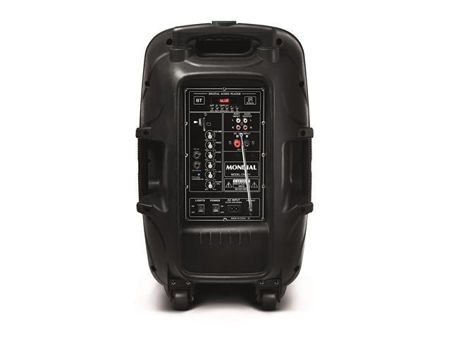 Caixa Amplificadora Multiuso Conect Party Mondial Bivolt - 1