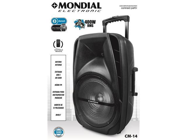 Caixa Amplificadora Multiuso Conect Party Bivolt Mondial - 3