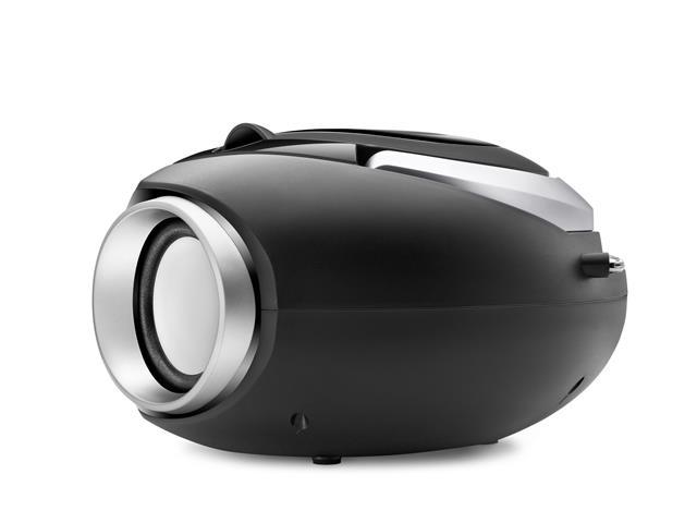 Rádio Boom Box Up Black USB Mondial Preto Bivolt - 3