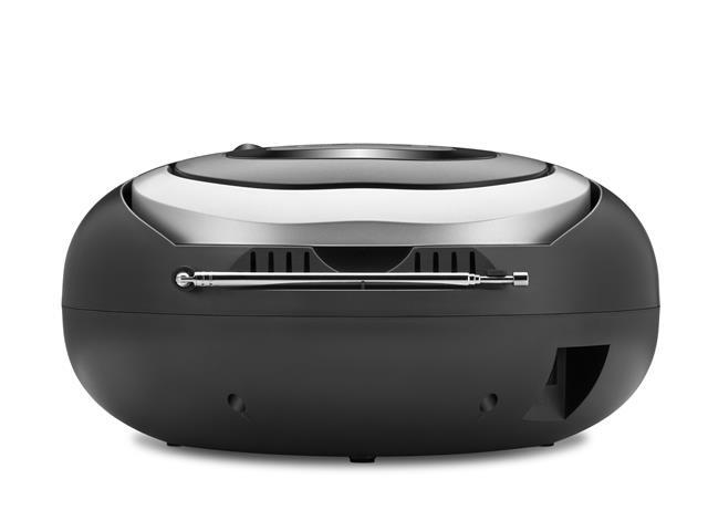 Rádio Boom Box Up Black USB Mondial Preto Bivolt - 5