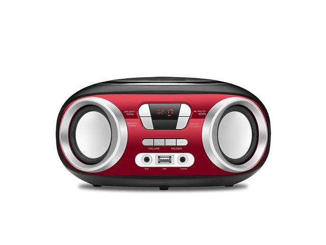 Rádio Boom Box Up Red USB Mondial Vermelho Bivolt
