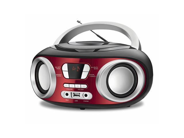 Rádio Boom Box Up Red USB Mondial Vermelho Bivolt  - 1