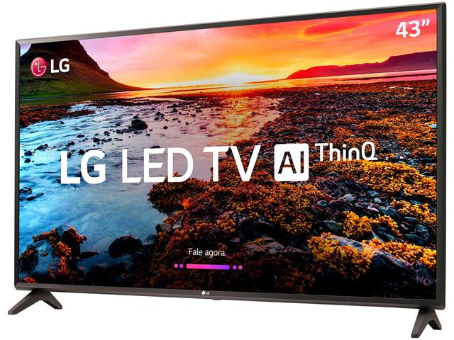 "Smart TV LED 43"" LG Full HD ThinQ AI TV HDR webOS 4.0 Wi-Fi 2HDMI 1USB - 2"