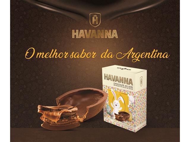 Ovo de Páscoa Havanna Ao Leite Recheado com Doce de Leite 150G - 3