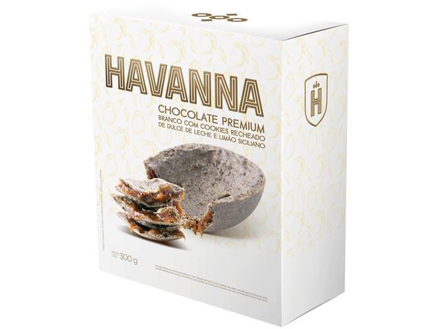 Combo Ovos de Páscoa Havanna Meio Amargo e Limão Siciliano Cada 300G - 6