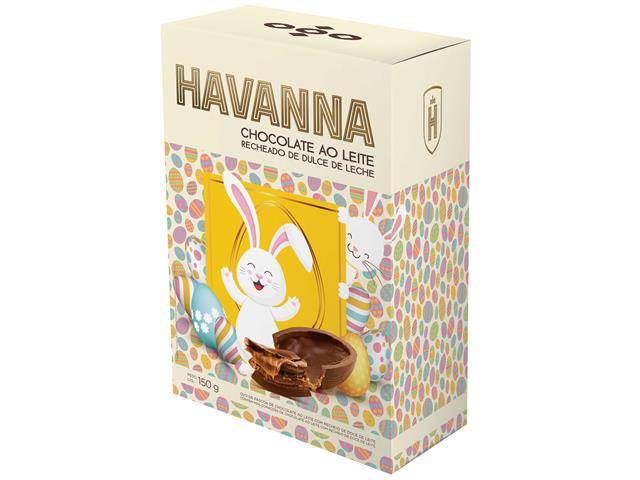 Combo Ovos de Páscoa Havanna Ao Leite Recheio Doce de Leite 150G 2 Un - 3