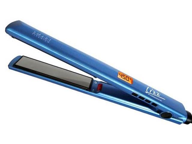 Prancha Alisadora Smart Titanium Lizz Professional 230°C Azul