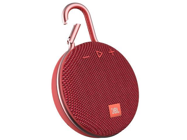 Caixa de Som Bluetooth JBL Clip 3 3,3W Vermelha - 4