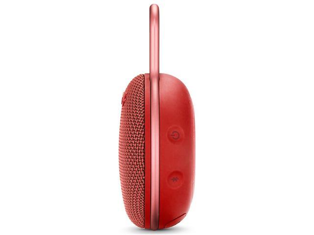 Caixa de Som Bluetooth JBL Clip 3 3,3W Vermelha - 2