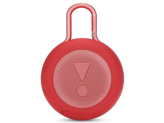 Caixa de Som Bluetooth JBL Clip 3 3,3W Vermelha - 3