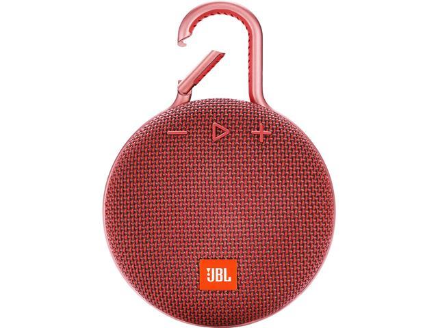 Caixa de Som Bluetooth JBL Clip 3 3,3W Vermelha