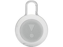 Caixa de Som Bluetooth JBL Clip 3 3,3W Branca - 3